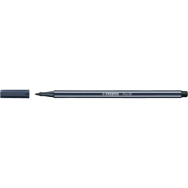 Stabilo Pen 68/98 kékesszürke rostirón - 1