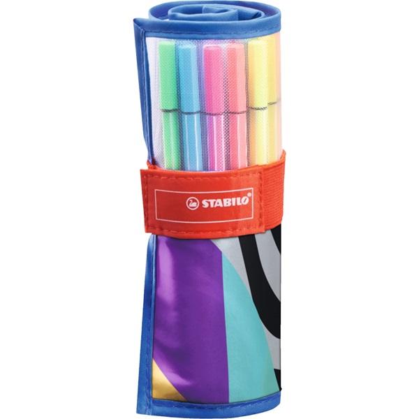 Stabilo Pen 68 Individual 20+5db-os vegyes színű rostirón készlet - 2
