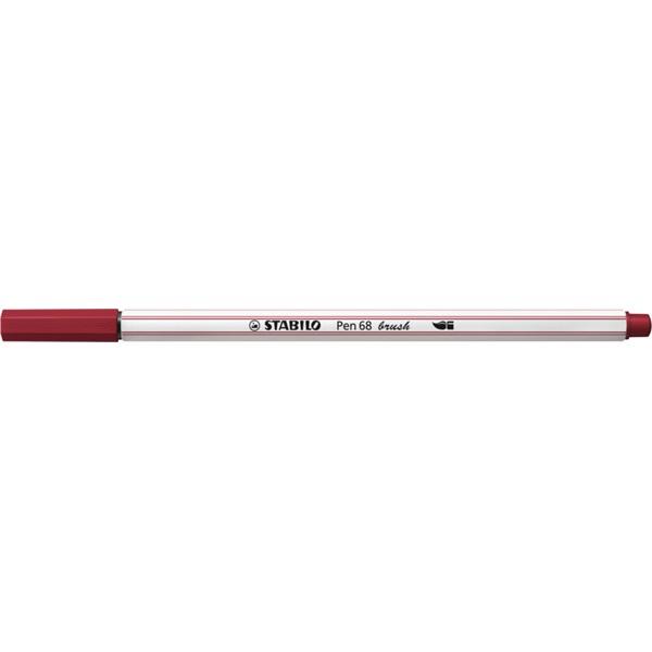 Stabilo Pen 68 brush bordó ecsetfilc - 1