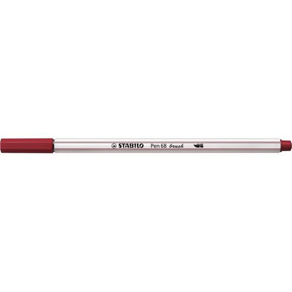 Stabilo Pen 68 brush bordó ecsetfilc - 2