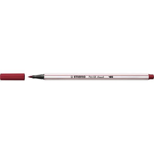 Stabilo Pen 68 brush bordó ecsetfilc - 3