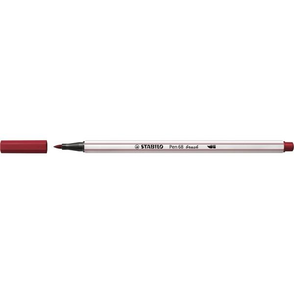 Stabilo Pen 68 brush bordó ecsetfilc - 4