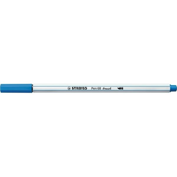 Stabilo Pen 68 brush kék ecsetfilc - 1