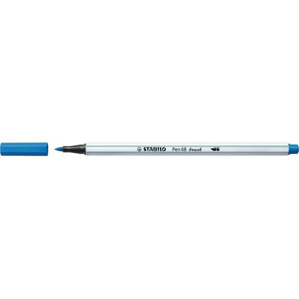 Stabilo Pen 68 brush kék ecsetfilc - 2