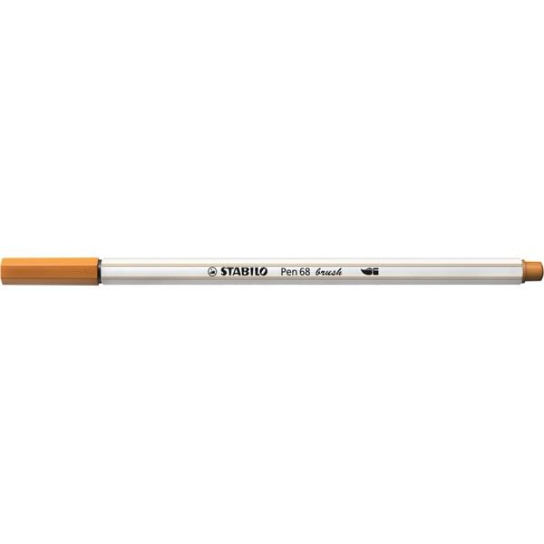 Stabilo Pen 68 brush okkersárga ecsetfilc - 1