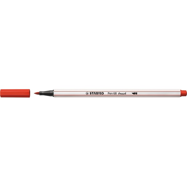 Stabilo Pen 68 brush piros ecsetfilc - 2