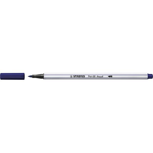 Stabilo Pen 68 brush sötétkék ecsetfilc - 3