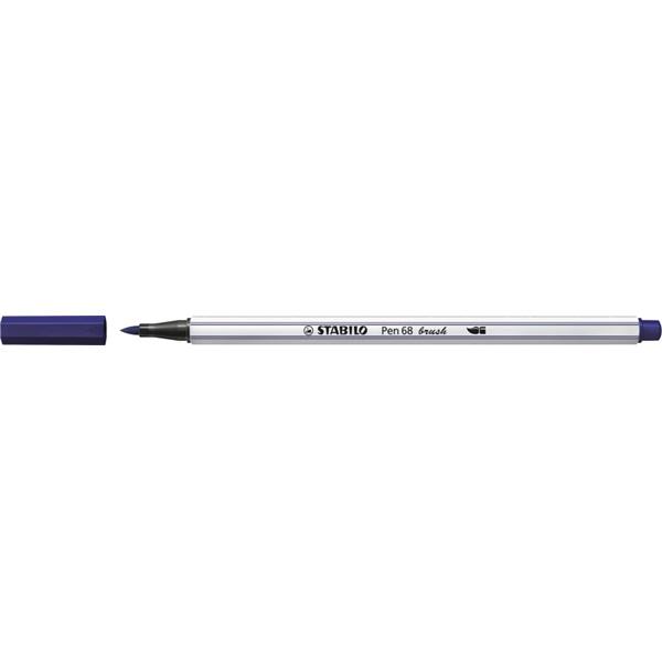 Stabilo Pen 68 brush sötétkék ecsetfilc - 4
