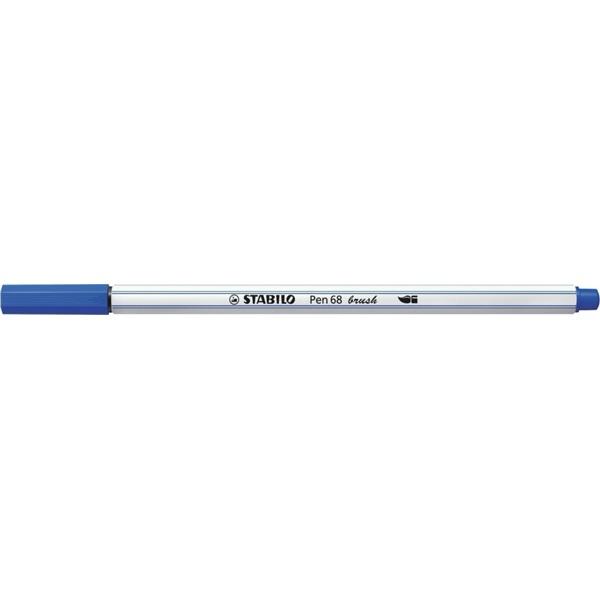 Stabilo Pen 68 brush tengerkék ecsetfilc - 1