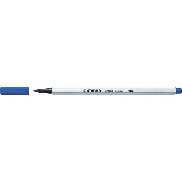 Stabilo Pen 68 brush tengerkék ecsetfilc - 2