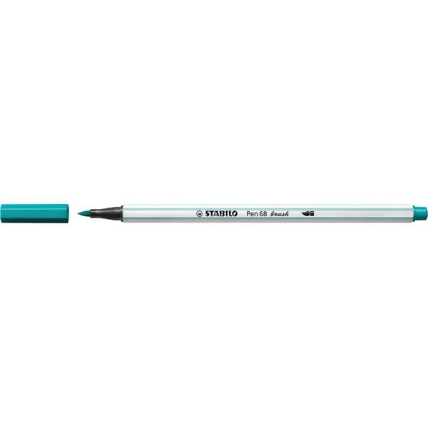 Stabilo Pen 68 brush türkizkék ecsetfilc - 2