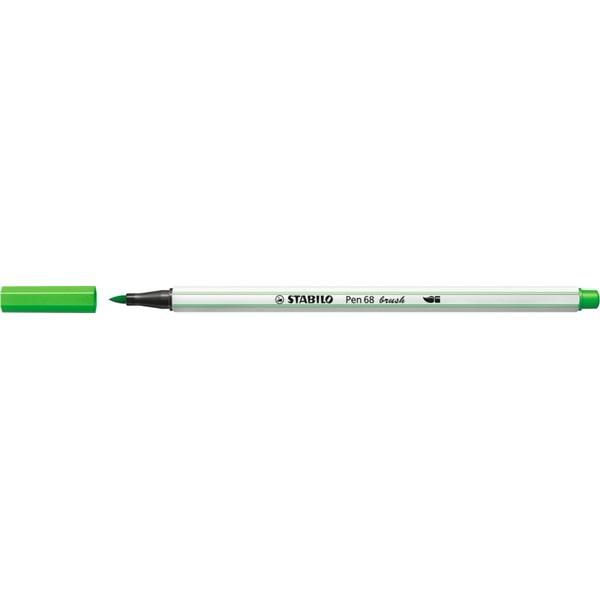 Stabilo Pen 68 brush világoszöld ecsetfilc - 2
