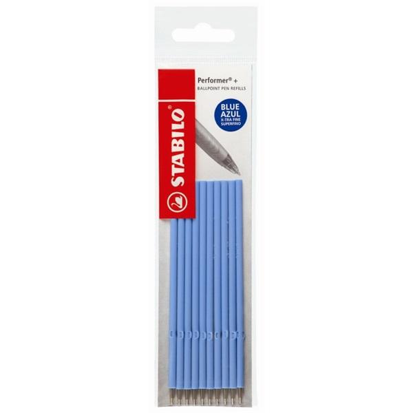 Stabilo Performer + 10db-os kék golyóstoll betét - 1