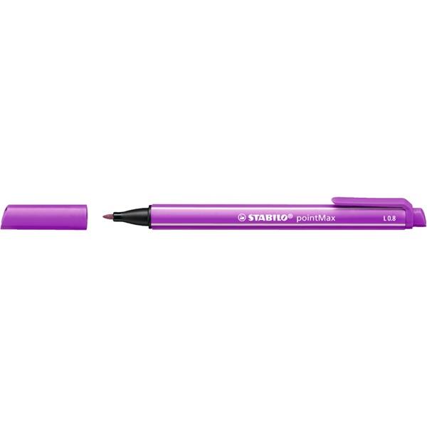 Stabilo PointMAX lila rostirón - 1
