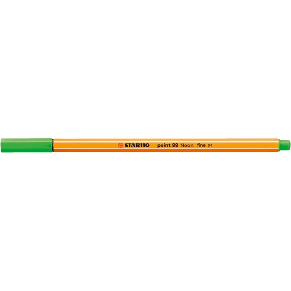 Stabilo Point 88/033 zöld tűfilc - 2