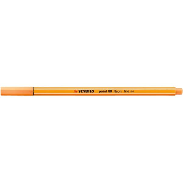 Stabilo Point 88/054 neon narancs tűfilc - 2