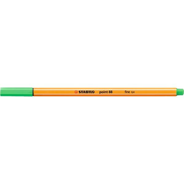 Stabilo Point 88/16 smaragd tűfilc - 1