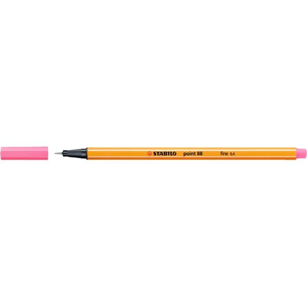 Stabilo Point 88/29 világos rózsaszín tűfilc - 1