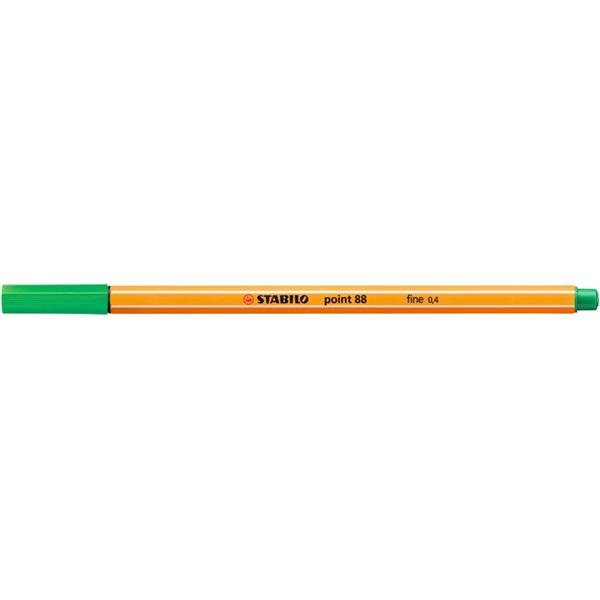 Stabilo Point 88/36 zöld tűfilc - 1