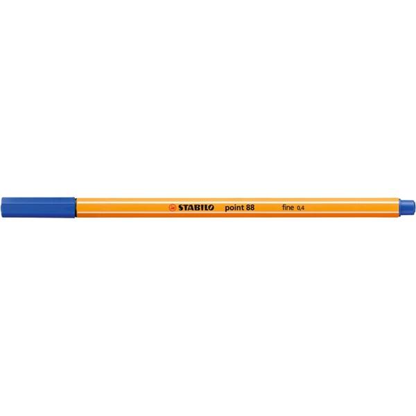 Stabilo Point 88/41 kék tűfilc - 1