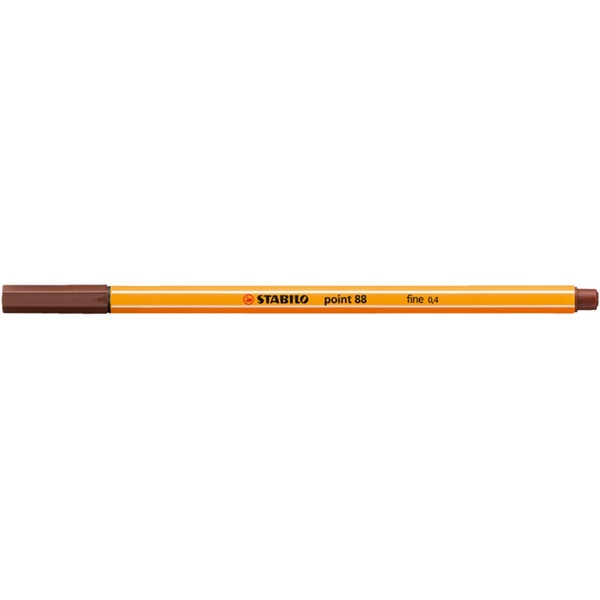 Stabilo Point 88/45 barna tűfilc - 2