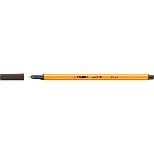 Stabilo Point 88/65 barna tűfilc - 1