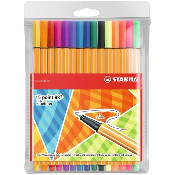 Stabilo Point 88 Individual 10+5db-os vegyes színű tűfilc készlet - 3
