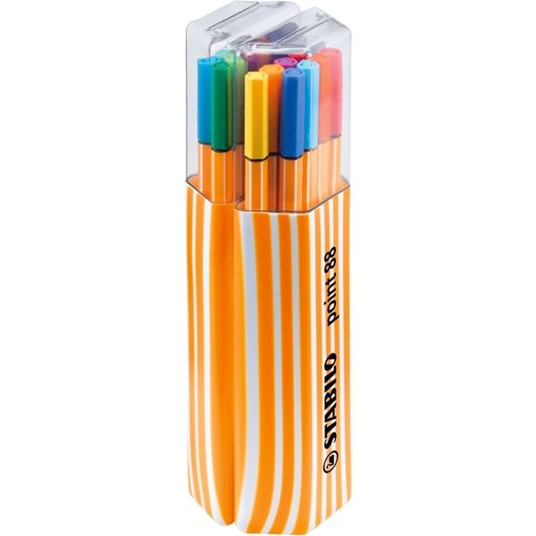 Stabilo Point 88 Twin Pack 20db-os vegyes színű tűfilc készlet - 1