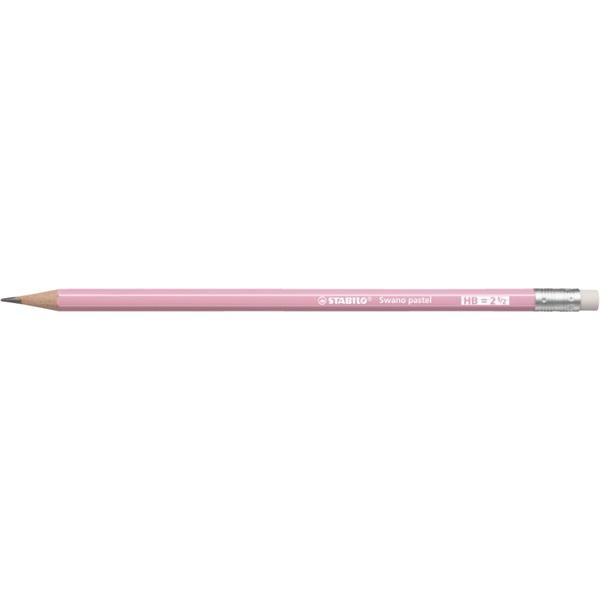 Stabilo Swano HB radíros pink grafitceruza - 1