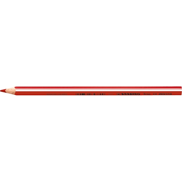 Stabilo Trio piros színes ceruza - 1