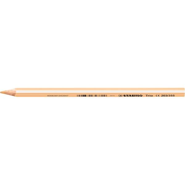 Stabilo Trio világos pink színes ceruza - 1