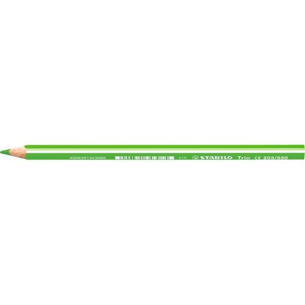 Stabilo Trio világoszöld színes ceruza - 1