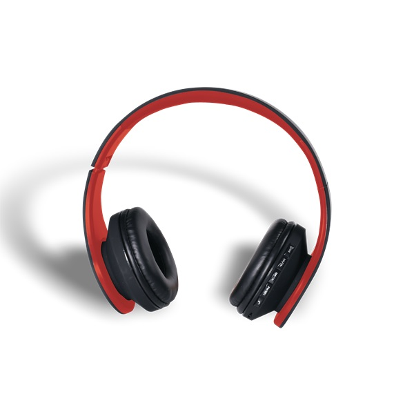 Stansson BHC203BR Bluetooth fekete-piros headset - 5
