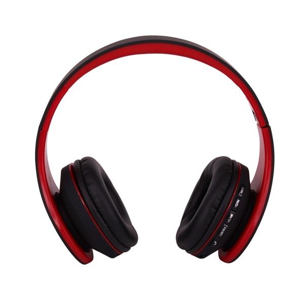 Stansson BHC203BR Bluetooth fekete-piros headset - 2