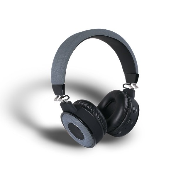 Stansson BHP201ZB Bluetooth szürke-fekete headset - 3