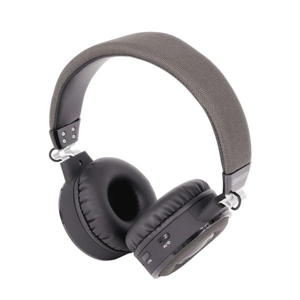 Stansson BHP201ZB Bluetooth szürke-fekete headset a PlayIT Store-nál most bruttó 15.999 Ft.