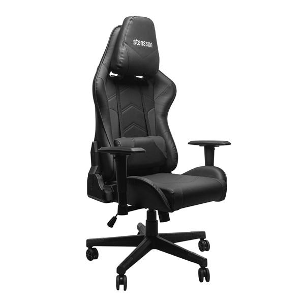 Stansson UCE600BB fekete-fekete gamer szék - 1