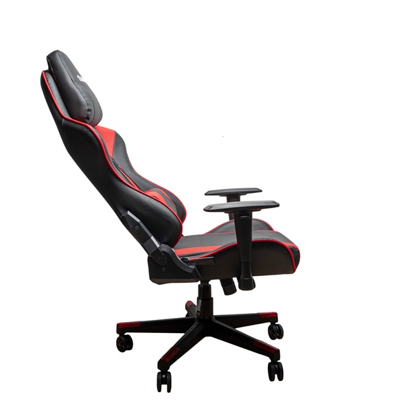 Stansson UCE601BR fekete-piros gamer szék - 3