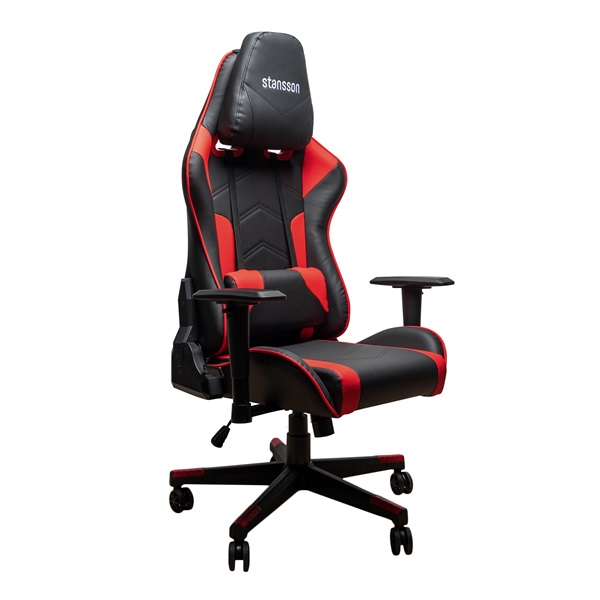 Stansson UCE601BR fekete-piros gamer szék - 1