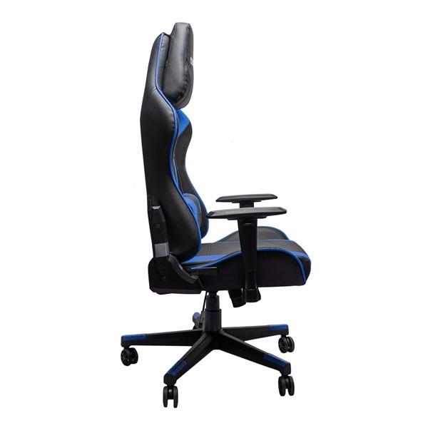 Stansson UCE602BK fekete-kék gamer szék - 2