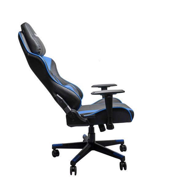 Stansson UCE602BK fekete-kék gamer szék - 3