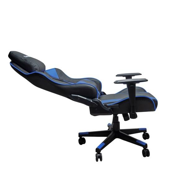 Stansson UCE602BK fekete-kék gamer szék - 4