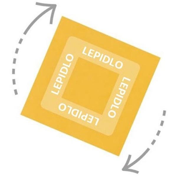 StickN 360° 76x127mm 100lap narancssárga öntapadó jegyzettömb - 3