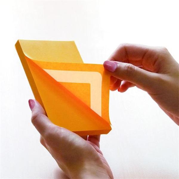StickN 360° 76x127mm 100lap narancssárga öntapadó jegyzettömb - 2