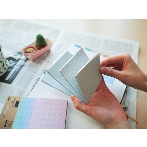 StickN MagicPad InBloom 4m. 4x25lap madaras jegyzettömb - 2