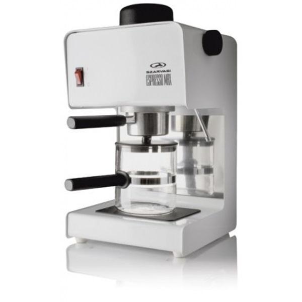 Szarvasi SZV618 fehér eszpresszó kávéfőző a PlayIT Store-nál most bruttó 15.999 Ft.