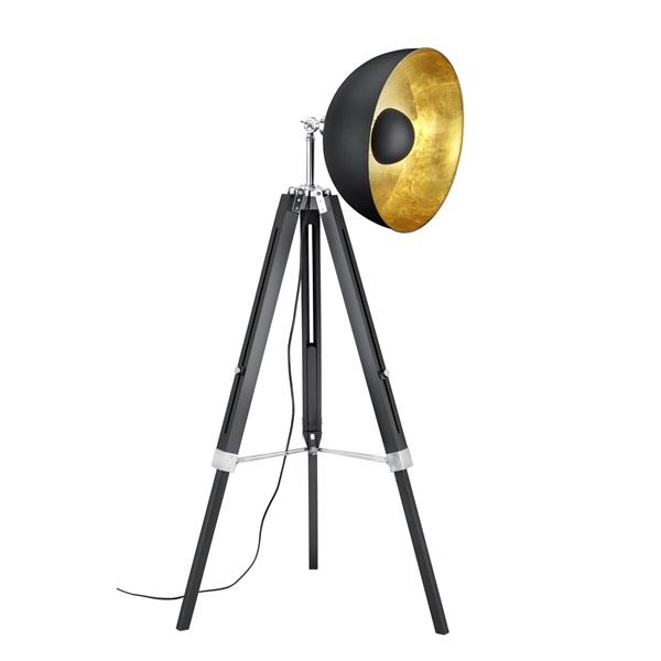 TRIO 407800132 Ličge 60W E27 fekete álló lámpatest - 1