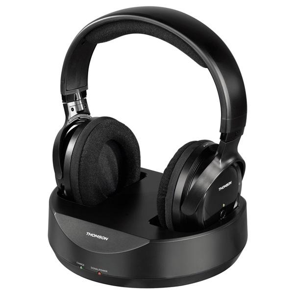 Hama 131957 Thomson WHP3001B vezeték nélküli fekete fejhallgató a PlayIT Store-nál most bruttó 15.999 Ft.