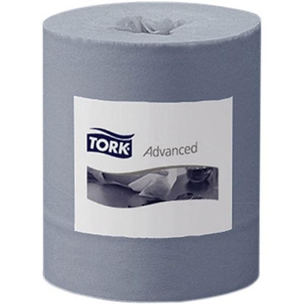 Tork 6 tekercses 2 rétegű kék papírtörlo - 1