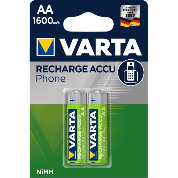 VARTA  Phone AA 1600mAh ceruza akkumulátor 2db/bliszter